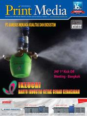 Cover Majalah Print Media Indonesia ED 75 Januari 2017