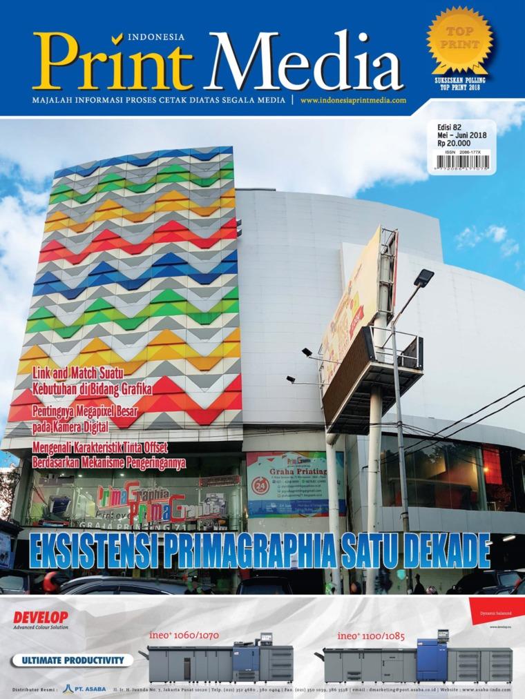 Majalah Digital Print Media Indonesia ED 82 Mei 2018