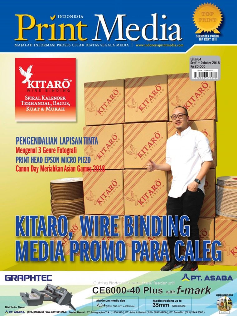 Print Media Indonesia Digital Magazine ED 84 September 2018