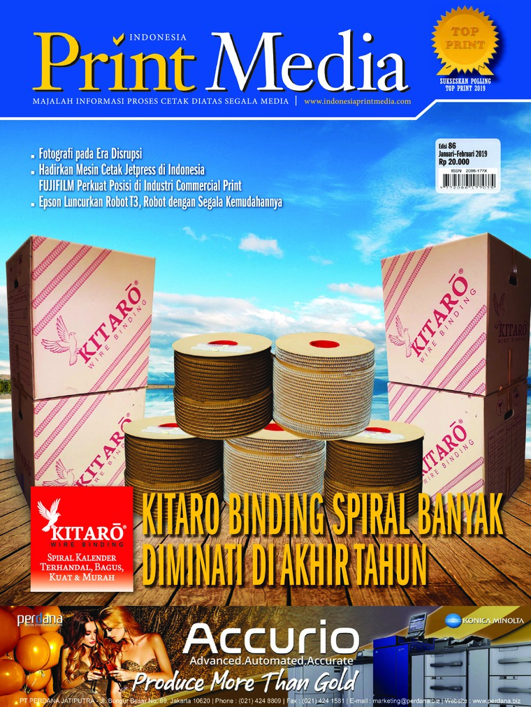 Print Media Indonesia Digital Magazine ED 86 January 2019