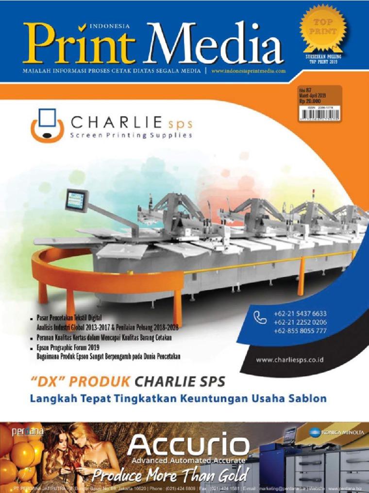 Print Media Indonesia Digital Magazine ED 87 March 2019