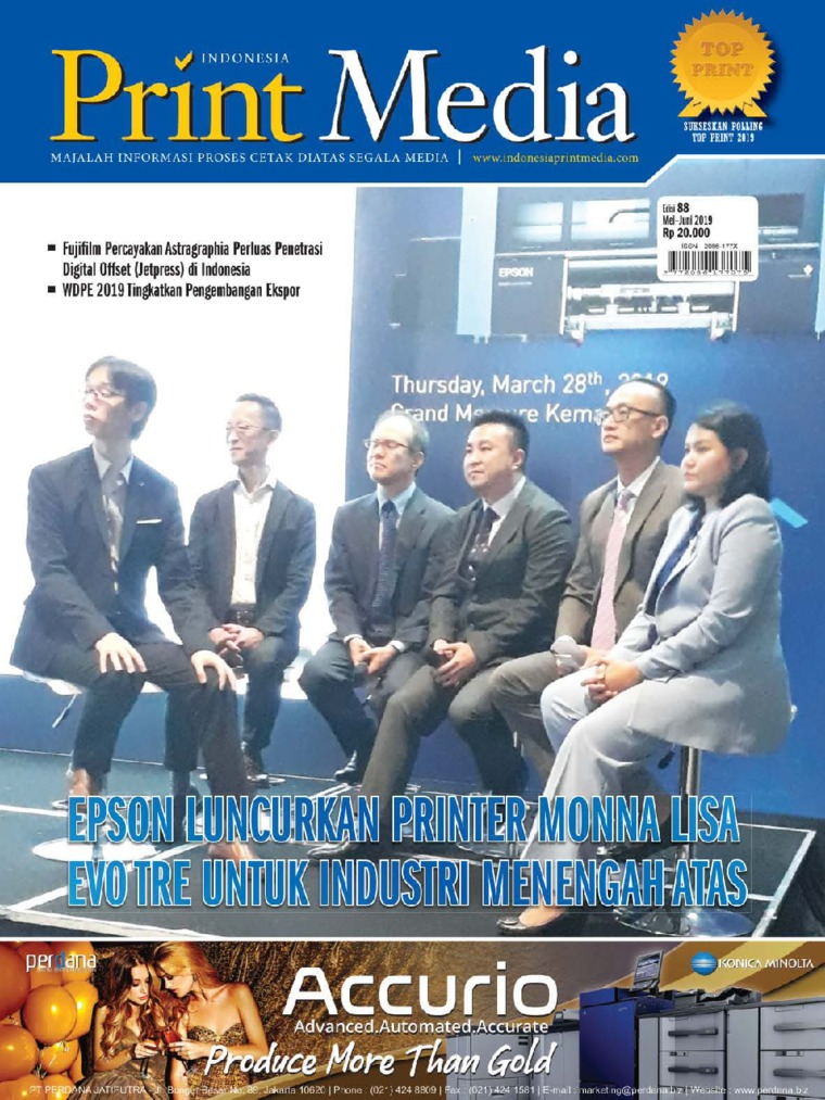Majalah Digital Print Media Indonesia ED 88 Mei 2019