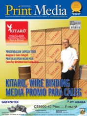 Cover Majalah Print Media Indonesia ED 84 September 2018