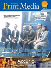 Cover Majalah Print Media Indonesia ED 88 Mei 2019