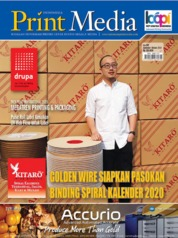 Cover Majalah Print Media Indonesia ED 90 September 2019