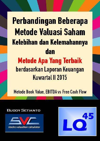 Perbandingan Beberapa Metode Valuasi Saham by Buddy Setianto Digital Book