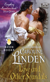 Love and Other Scandals by Caroline Linden Cover