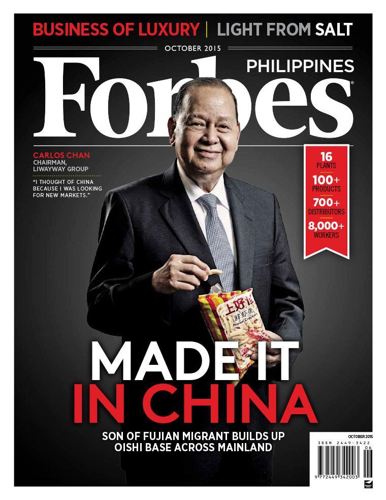 Majalah Digital Forbes Philippines Oktober 2015