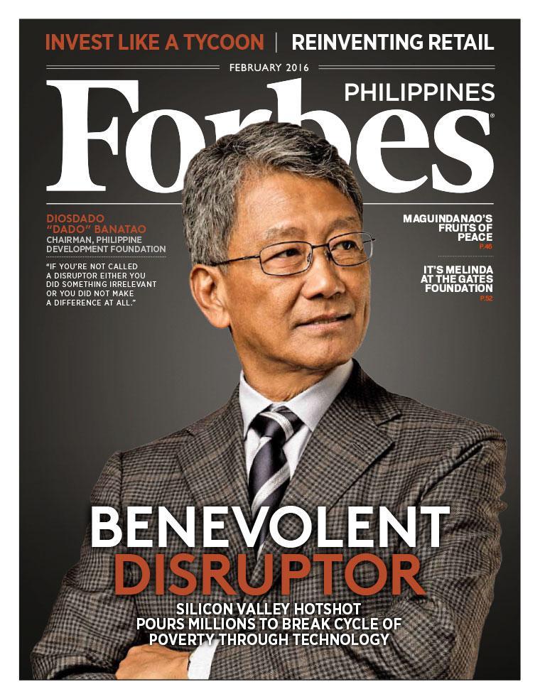 Majalah Digital Forbes Philippines Februari 2016