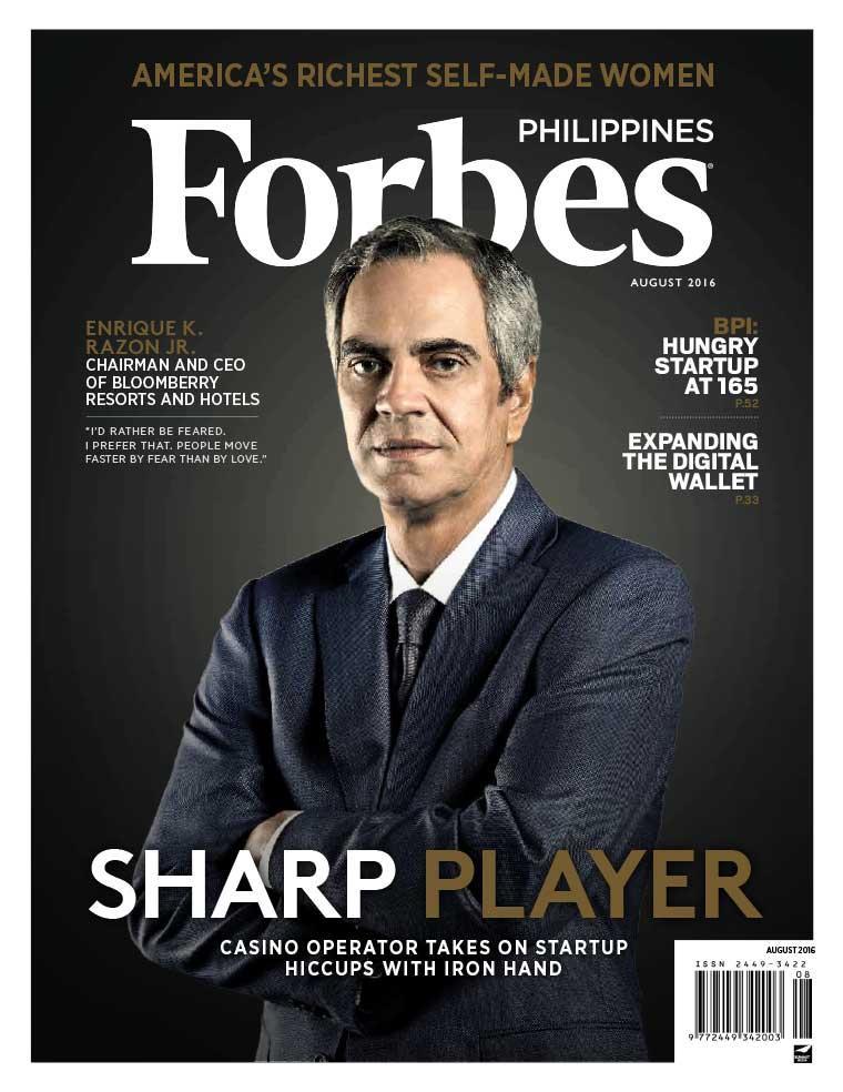 Majalah Digital Forbes Philippines Agustus 2016