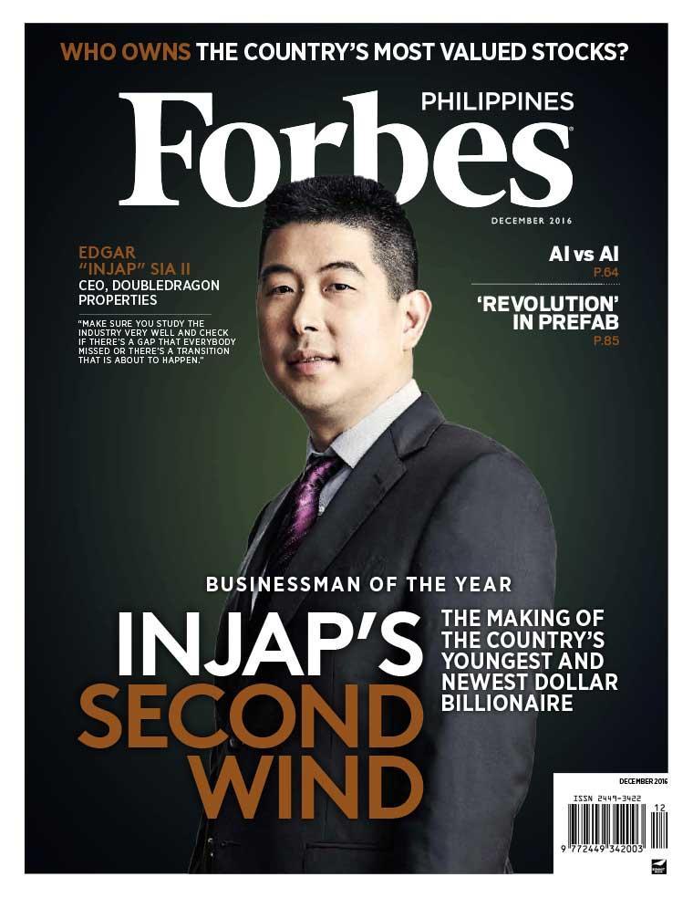 Majalah Digital Forbes Philippines Desember 2016