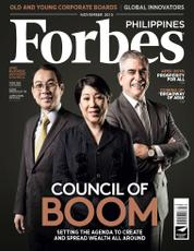 Forbes Philippines Magazine Cover November 2015