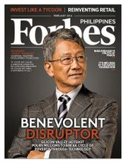 Forbes Philippines Magazine Cover February 2016