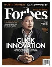 Forbes Philippines Magazine Cover May 2016