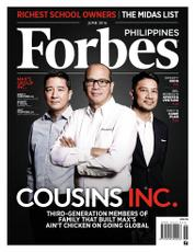 Forbes Philippines Magazine Cover June 2016