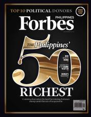 Forbes Philippines Magazine Cover September 2016