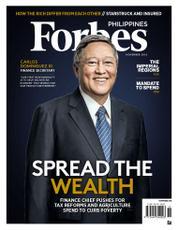 Cover Majalah Forbes Philippines November 2016