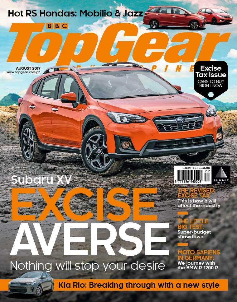 Majalah Digital Top Gear Philippines Agustus 2017