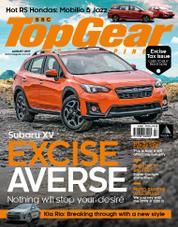 Cover Majalah Top Gear Philippines Agustus 2017