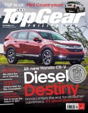 Cover Majalah Top Gear Philippines September 2017