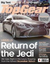 Cover Majalah Top Gear Philippines November 2017