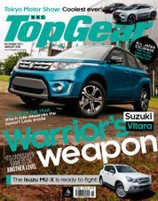 Cover Majalah Top Gear Philippines Desember–Januari 2018