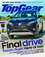 Cover Majalah Top Gear Philippines Mei 2018