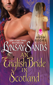 An English Bride in Scotland by Lynsay Sands Cover
