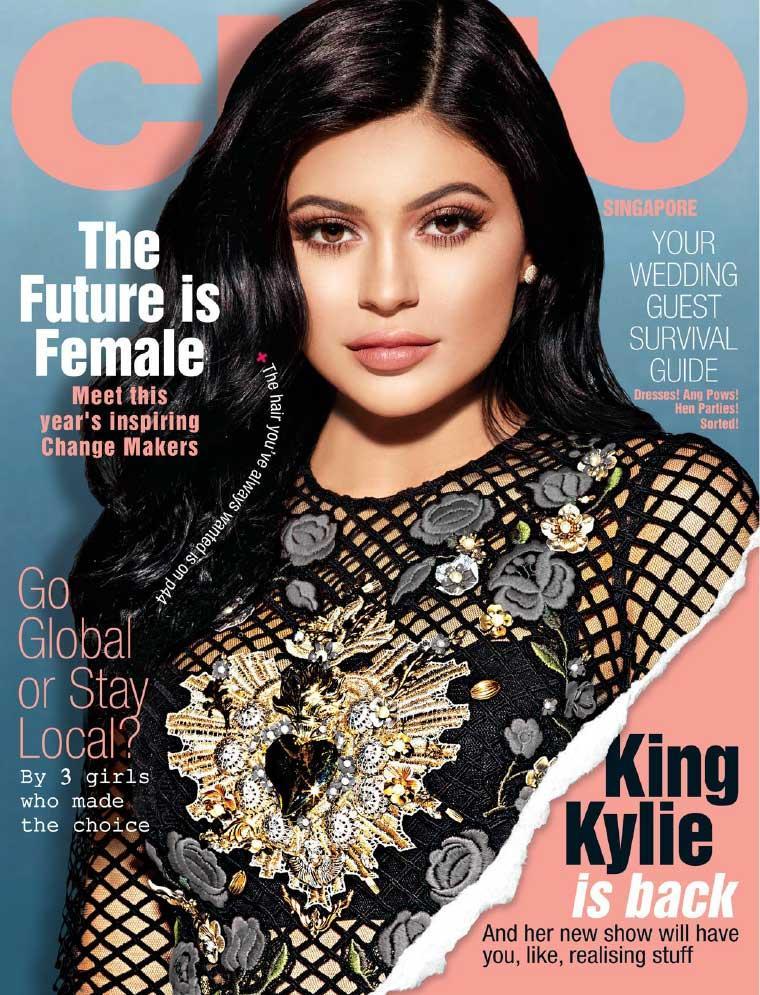 Jual Kylie Matte Liquid Lipstick Dolce K: Jual Majalah CLEO Singapore Agustus 2017