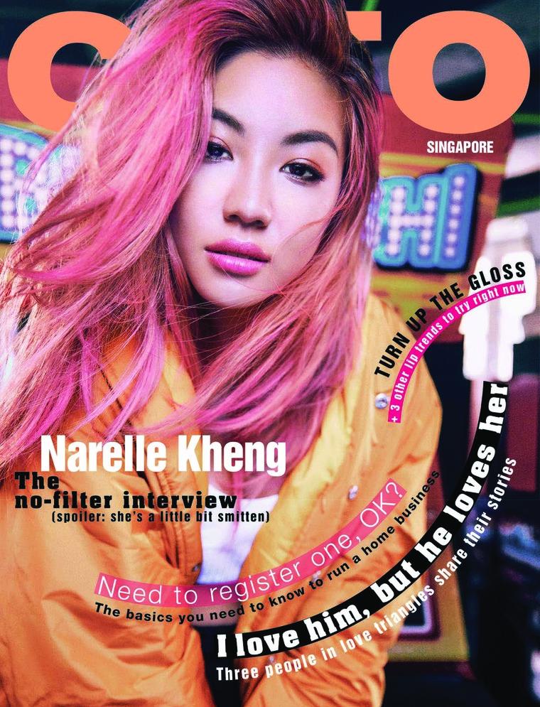 Majalah Digital CLEO Singapore April 2018