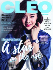Cover Majalah CLEO Singapore November 2018