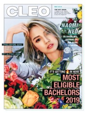 CLEO Singapore Magazine Cover May 2019
