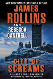 Cover City of Screams oleh James Rollins