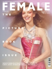 Cover Majalah female Singapore Oktober 2018