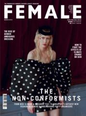 Cover Majalah female Singapore Maret 2019