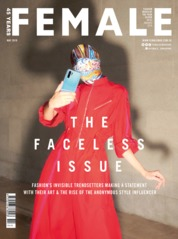 Cover Majalah female Singapore Mei 2019