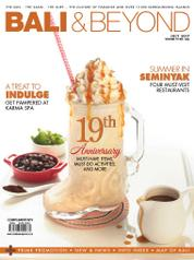 Cover Majalah BALI & BEYOND English Juli 2017