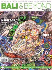 Cover Majalah BALI & BEYOND English November 2017