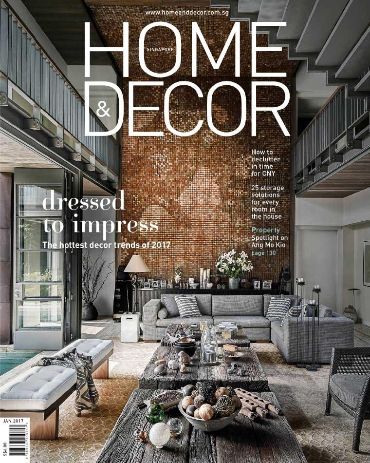 Majalah Digital HOME & DECOR Singapore Januari 2017
