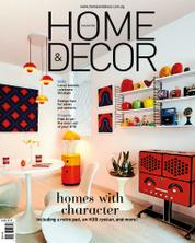 Cover Majalah HOME & DECOR Singapore Agustus 2017