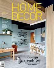 Cover Majalah HOME & DECOR Singapore Januari 2018