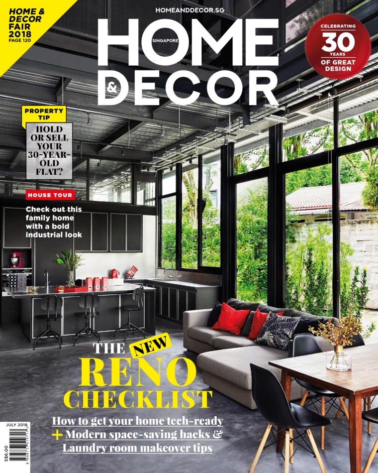 HOME & DECOR Singapore Magazine July 2018
