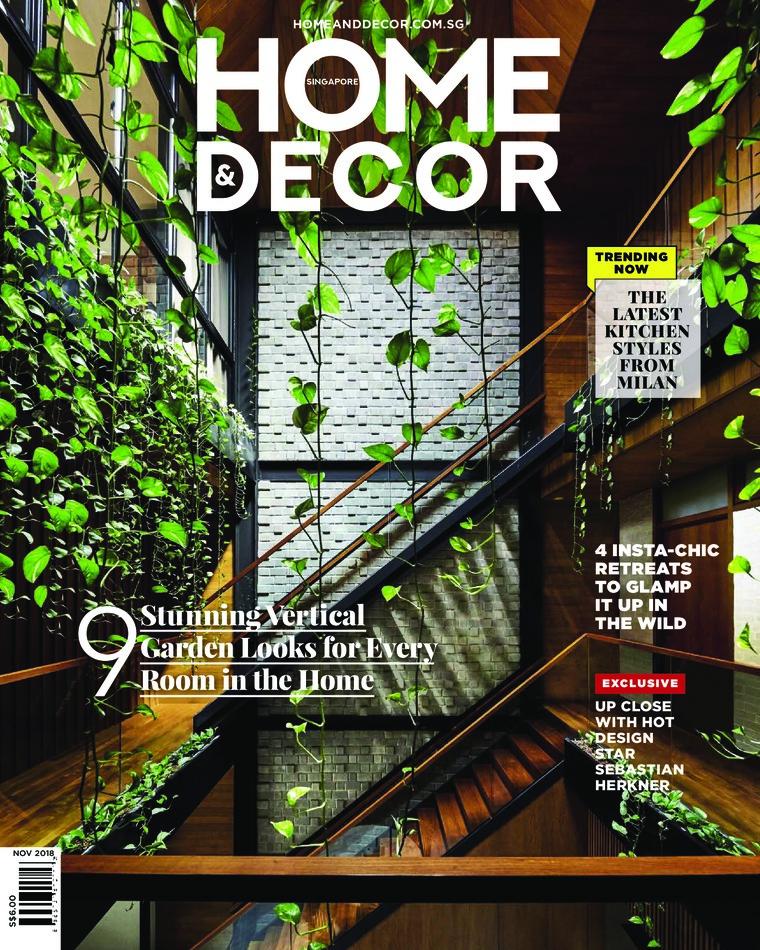 Majalah Digital HOME & DECOR Singapore November 2018