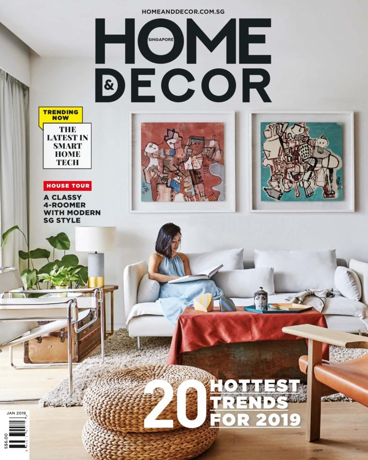 HOME & DECOR Singapore Magazine January 2019