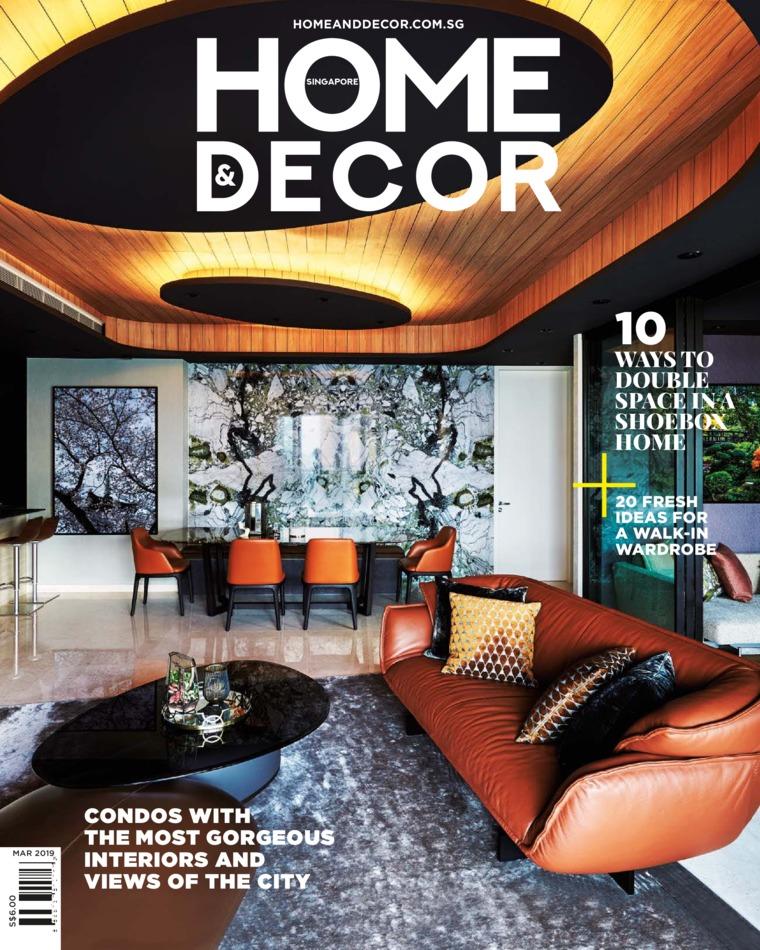 Majalah Digital HOME & DECOR Singapore Maret 2019