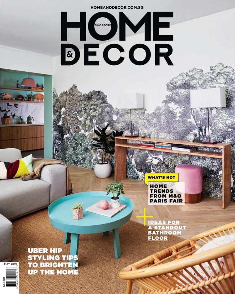 Majalah Digital HOME & DECOR Singapore Mei 2019