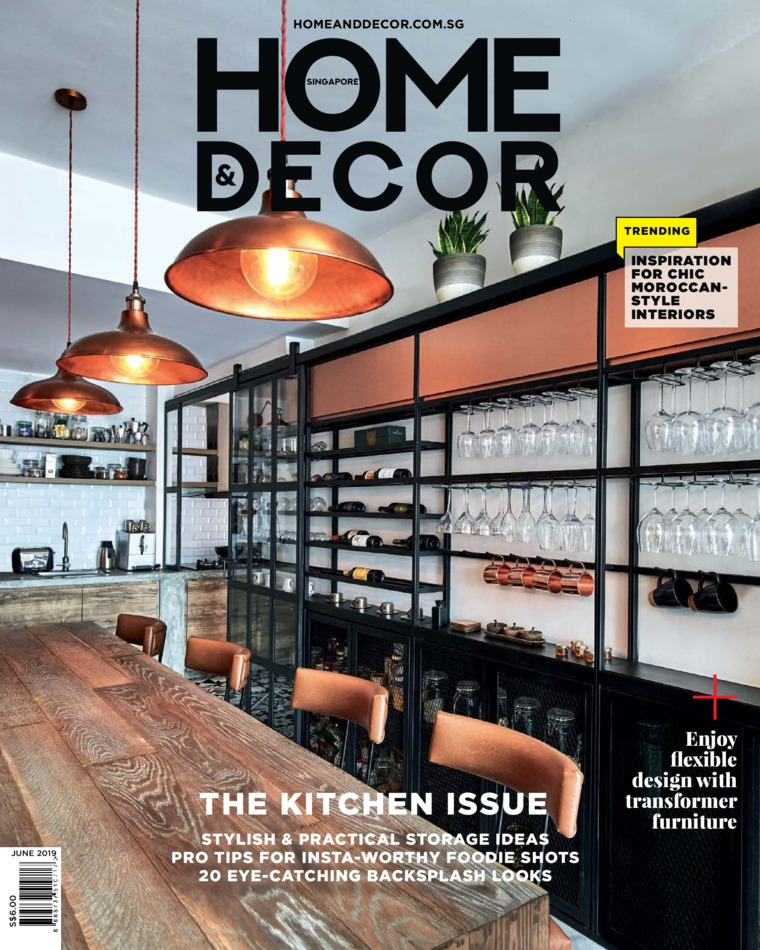 HOME & DECOR Singapore Digital Magazine June 2019