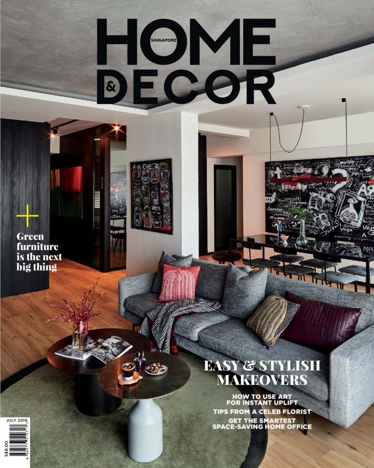 Majalah Digital HOME & DECOR Singapore Juli 2019
