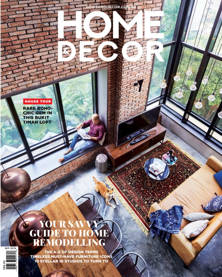 HOME & DECOR Singapore Digital Magazine September 2019