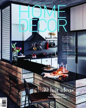 HOME & DECOR Singapore Magazine Cover